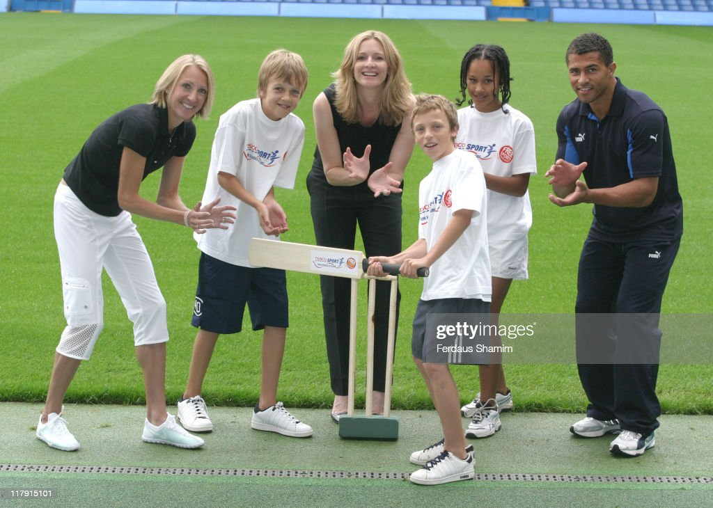 Tesco Sport for Schools & Clubs - Photocall
