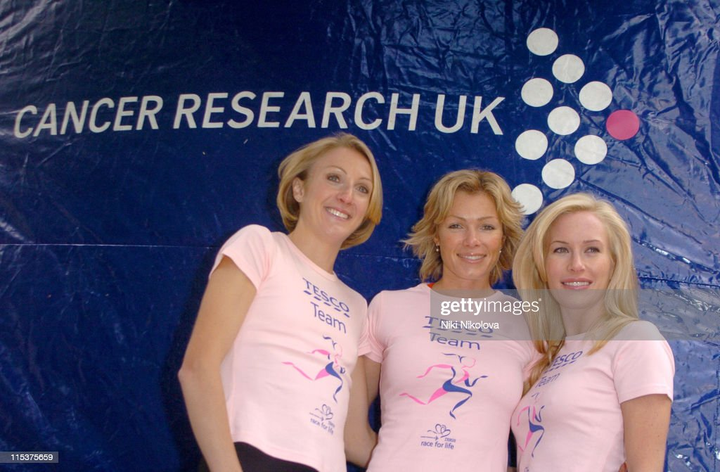 "Cancer Research UK's ""Race for Life 2005"" - Photocall"