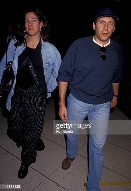Paula Ravets and Paul Reiser at Los Angeles International Airport Los Angeles