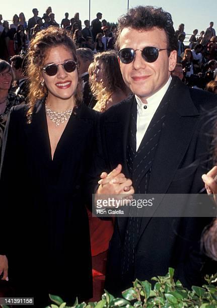 Paula Ravets and Paul Reiser at the 45th Annual Primetime Emmy Awards Pasadena Civic Auditorium Pasadena