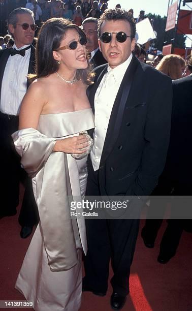 Paula Ravets and Paul Reiser at the 47th Annual Primetime Emmy Awards Pasadena Civic Auditorium Pasadena