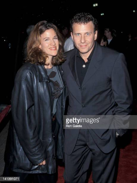 Paula Ravets and Paul Reiser at the Los Angeles Premiere of 'Lock Stock Two Smoking Barrells' Sony Studios Culver City