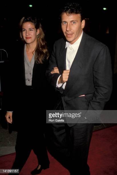 Paula Ravets and Paul Reiser at the Premiere of 'Avalon' Cineplex Odeon Cinema Century City