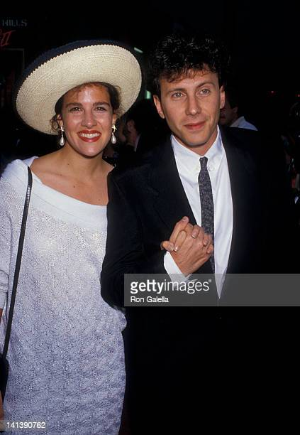 Paula Ravets and Paul Reiser at the Premiere of Beverly Hills Cop II Mann Chinese Theater Century City