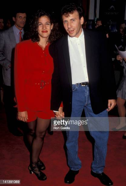 Paula Ravets and Paul Reiser at the Premiere of 'Mr Saturday Night' Mann Chinese Theater Hollywood