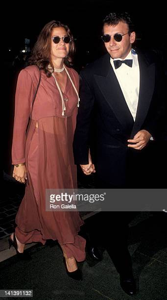 Paula Ravets and Paul Reiser at the Taping of NBC Special 'Comedy Hall of Fame' Beverly Hilton Hotel Beverly Hills