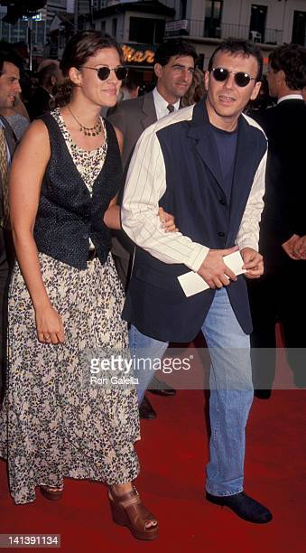 Paula Ravets and Paul Reiser at the World Premiere of 'In The Line Of Fire' Mann Village Theater New York City