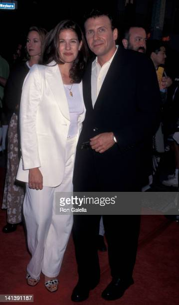Paula Ravets and Paul Reiser at the World Premiere of 'Twister' Mann Village Theater Westwood