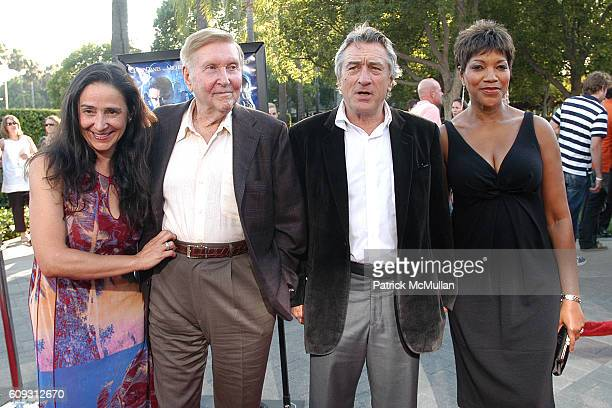 Paula Redstone Sumner Redstone Robert De Niro and Grace Hightower attend Paramount Pictures Premiere Of 'Stardust' Red Carpet Arrivals at Paramount...
