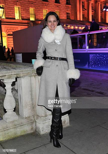 Paula Reid attends Skate presented by Tiffany and Co at Somerset House on November 22 2010 in London England