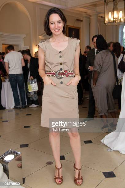 Paula Reid attends the Maison Martin Margiela '20' Exhibition at Somerset House on June 2 2010 in London England