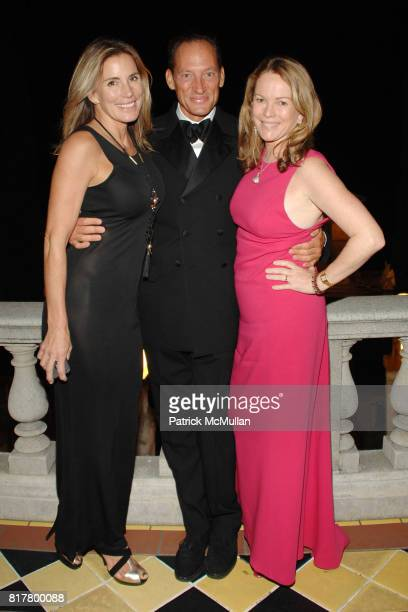 Paula Rice Tony Peck and Anne Hearst McInerney attend 2nd ANNUAL HEARST CASTLE PRESERVATION FOUNDATION HOLLYWOOD GLAMOUR at Hearst Castle on October...