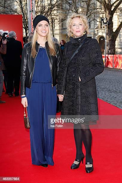 Paula Riemann and Katja Riemann attend the ''The Misplaced World' Premiere 65th Berlinale International Film Festival on February 13 2015 in Berlin...