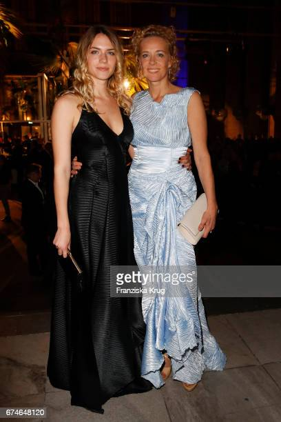 Paula Riemann and Katja Riemann during the Lola German Film Award party at Messe Berlin on April 28 2017 in Berlin Germany