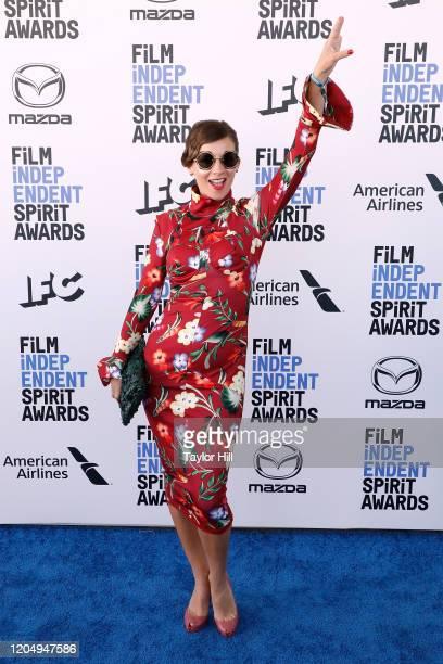 Paula Roman attends the 2020 Film Independent Spirit Awards at Santa Monica Pier on February 08, 2020 in Santa Monica, California.