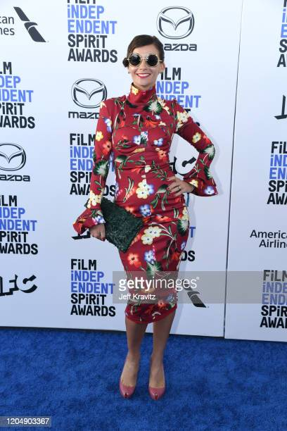Paula Roman attends the 2020 Film Independent Spirit Awards on February 08, 2020 in Santa Monica, California.