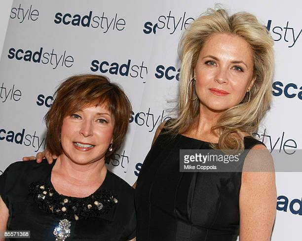 Paula S. Wallace and Cornelia Guest attend the Savannah College of Art and Design's annual Style Etoile Awards Gala at James Cohan Gallery on March...