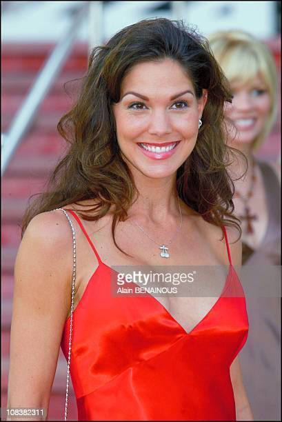 Paula Trickey actress of 'Pacific blue' and 'Alerte a Malibu' in Monaco on July 04 2002