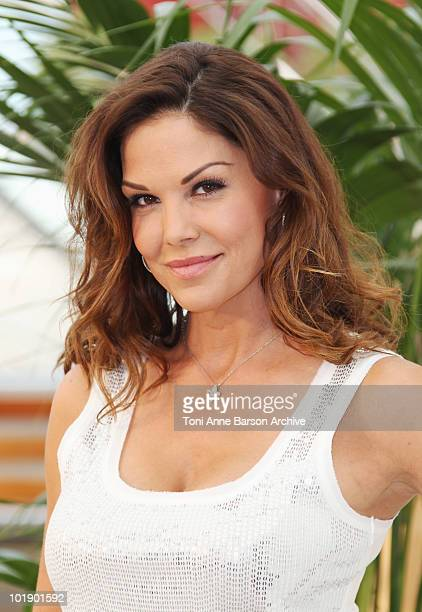 Paula Trickey attends photocall at the Grimaldi Forum on June 8 2010 in MonteCarlo Monaco