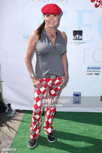 Paula Trickey attends the 11th Annual George Lopez Celebrity Golf Classic at Lakeside Country Club on May 7 2018 in Toluca Lake California
