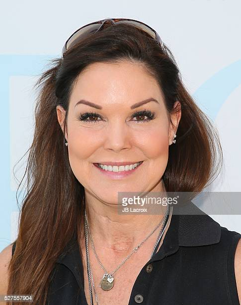 Paula Trickey attends the Ninth Annual George Lopez Celebrity Golf Classic held at Lakeside Golf Club on May 2 2016 in Burbank California
