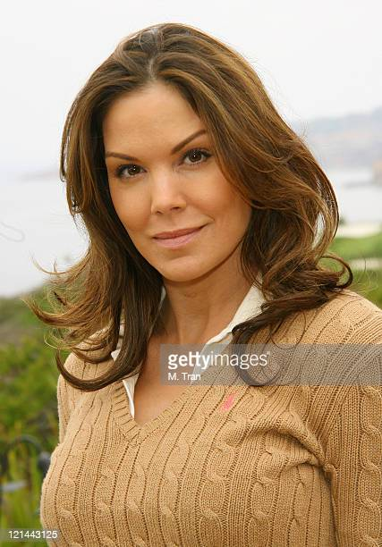 Paula Trickey during Inaugural Salvation Army Celebrity Invitational Golf Classic at Trump National Golf Club in Rancho Palos Verdes California...