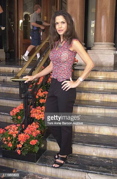 Paula Trickey during Monte Carlo Television Festival 2002 Paula Trickey Photo Call at Hotel de Paris in MonteCarlo Monaco