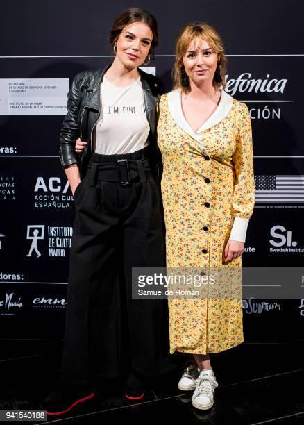 Paula Usero attends 'Cine Por Mujeres' Festival Presentation on April 3, 2018 in Madrid, Spain.