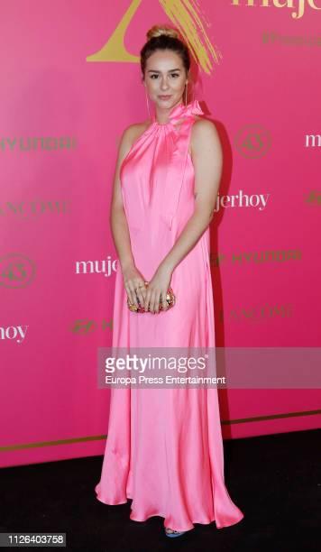 Paula Usero attends the 'MujerHoy' awards 2019 at Casino de Madris on January 30, 2019 in Madrid, Spain.