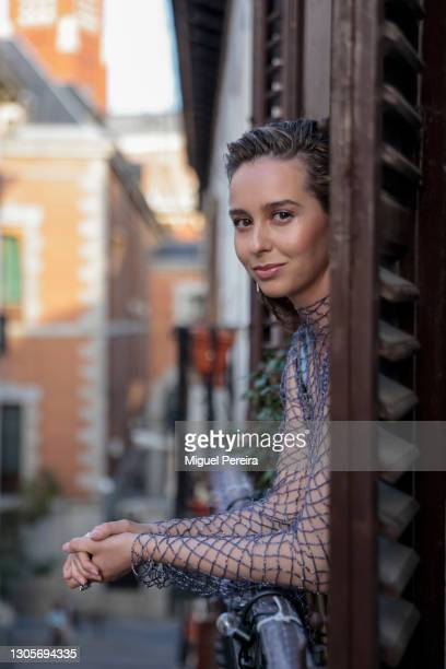 Paula Usero poses for a portrait session ahead of the Goya Cinema Awards 2021 at her home on March 6, 2021 in Madrid, Spain.