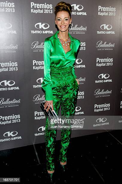 Paula Vazque attends the XI Teatro Kapital Awards at Teatro Kapital on March 14 2013 in Madrid Spain