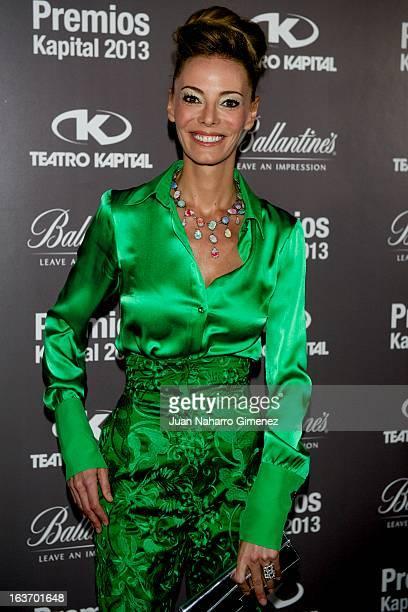 Paula Vazque attends 'XI Teatro Kapital Awards' at Teatro Kapital on March 14 2013 in Madrid Spain