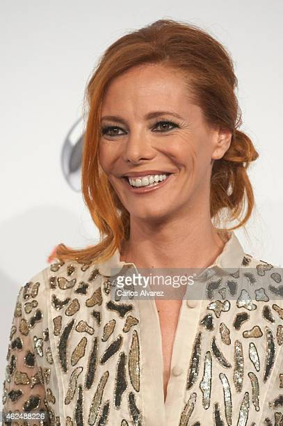 Paula Vazquez attends Antena 3 TV Channel 25th anniversary party at the Palacio de Cibeles on January 29 2015 in Madrid Spain