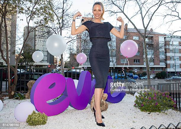 Paula Vazquez attends 'Health Party' photocall on March 10 2016 in Madrid Spain