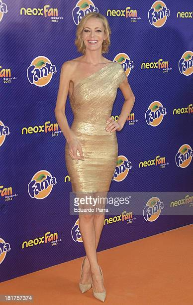 Paula Vazquez attends Neox Fan Awards photocall at IFEMA Congress Hall on September 24 2013 in Madrid Spain