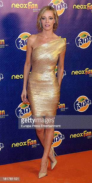 Paula Vazquez attends Neox Fan Awards photocall on September 24 2013 in Madrid Spain