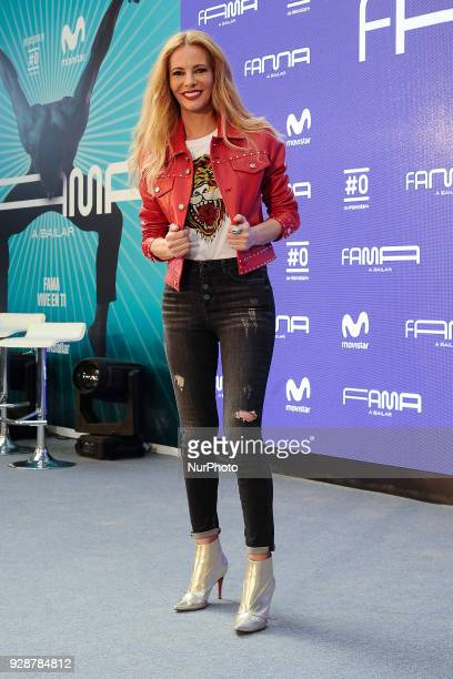 Paula Vazquez attends the presentation of 'Fama A Bailar' for channel's Movistar on March 7 2018 in Madrid Spain