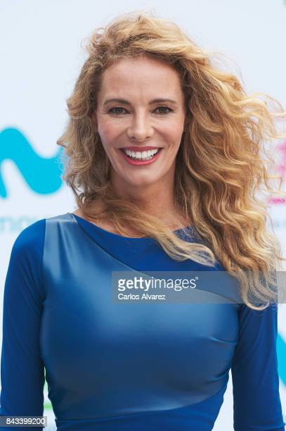 Paula Vazquez attends the presentation of new season of by Movistar at the at the Escoriaza Esquivel Palace during the FesTVal 2017 on September 6...