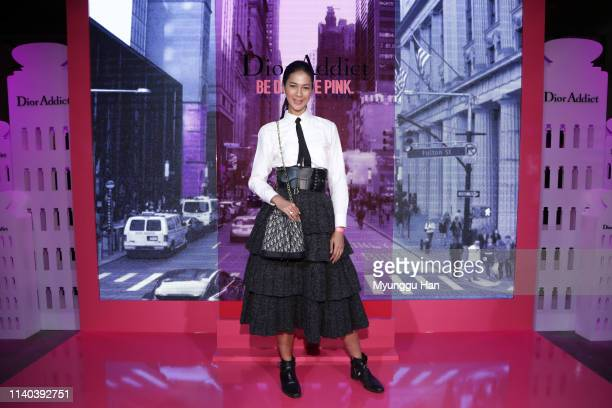 Paula Verhoeven attends Dior Addict Stellar Shine launch at Layers 57 on April 04 2019 in Seoul South Korea