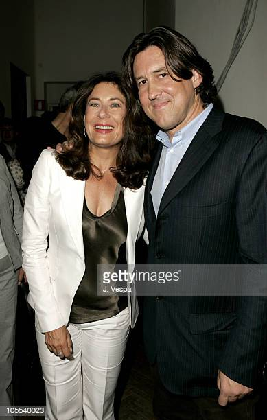 Paula Wagner and Cameron Crowe during 2005 Venice Film Festival Elizabethtown Photocall at Casino Palace in Venice Lido Italy