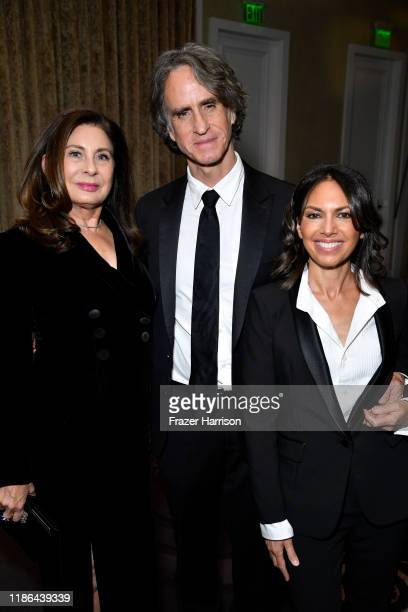 Paula Wagner Jay Roach and Susanna Hoffs attend the 33rd American Cinematheque Award Presentation Honoring Charlize Theron at The Beverly Hilton...