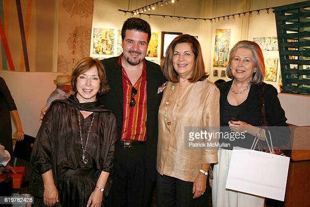 Paula Wallace, Enrique Crespo, Olga Santo Tomas and Hilda Morales attend Savannah College of Art and Design Brunch Hosted by President Paula Wallace...