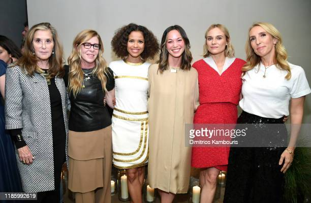 Paula Weinstein Paula Weinstein Gugu MbathaRaw Hannah Peterson Diane Kruger and Sam TaylorJohnson attend Through Her Lens The Tribeca CHANEL Women's...