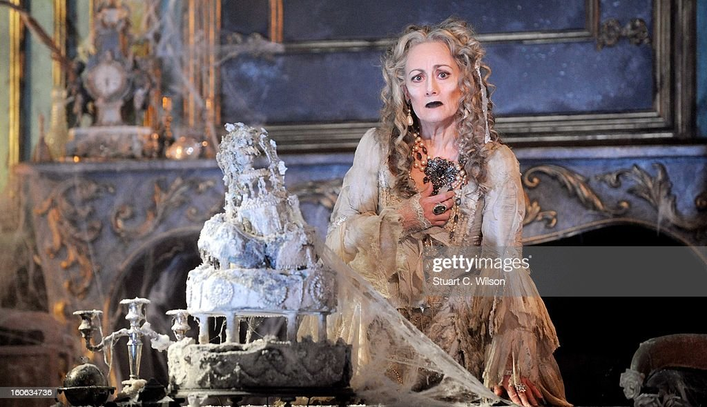 Paula Wilcox as Miss Havisham attends a photocall for 'Great Expectations' at Vaudeville Theatre on February 4, 2013 in London, England.