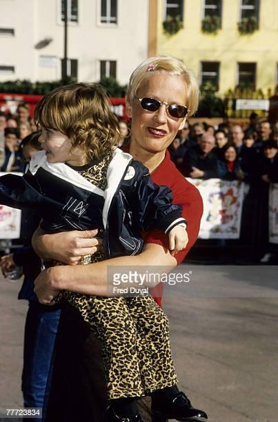 Paula Yates and Tiger Lily