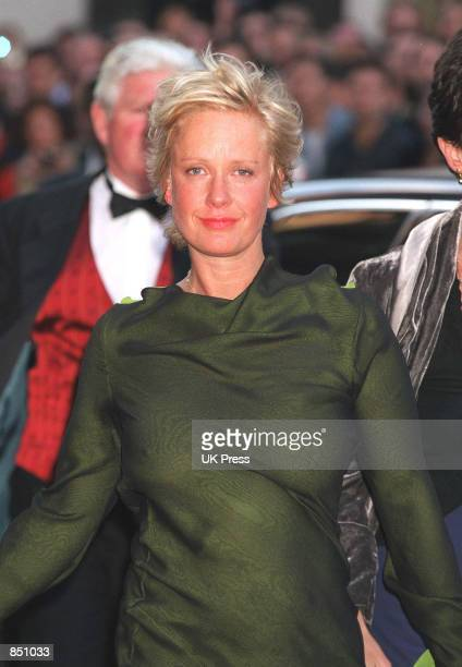 Paula Yates attending the charity premiere of the movie The Next Best Thing at the Odeon West End June 6 2000 in London England Yates was found dead...