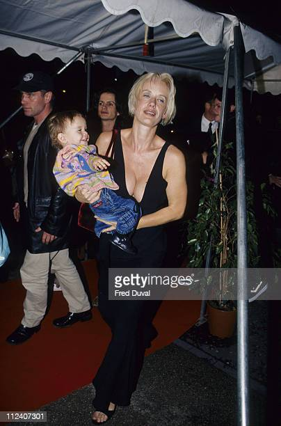 Paula Yates with her daughter Heavenly Hiraani Tiger Lily Hutchence