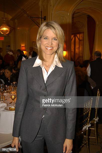 Paula Zahn attends A Celebration of Mike Wallace's New Book 'Between You and Me' at Arabelle on October 25 2005 in New York City