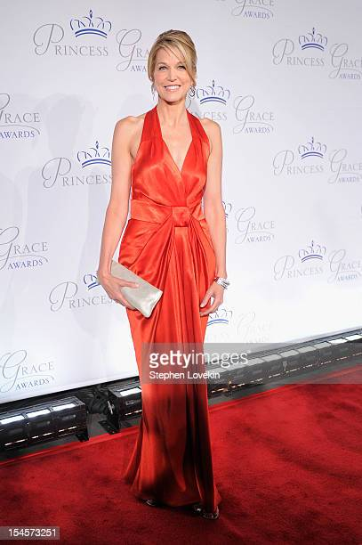 Paula Zahn attends the 30th anniversary Princess Grace awards gala at Cipriani 42nd Street on October 22 2012 in New York City