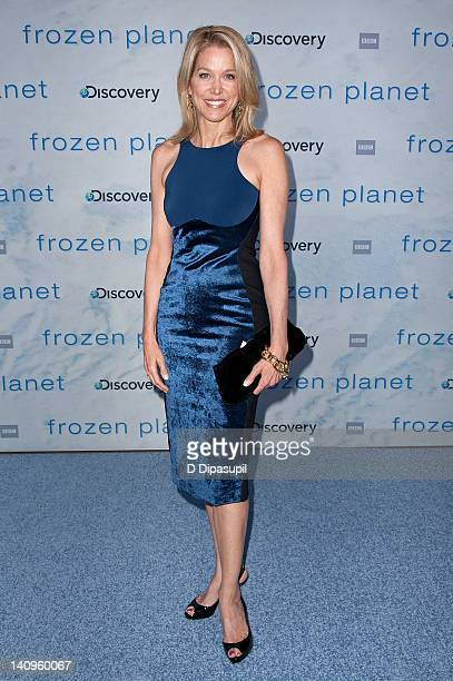 """Paula Zahn attends the """"Frozen Planet"""" premiere at Alice Tully Hall, Lincoln Center on March 8, 2012 in New York City."""